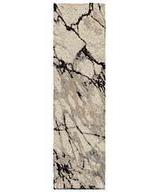 "Orian Carolina Wild Great Falls Natural 2'3"" x 8' Runner Area Rug"
