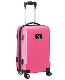 Luggage Carry-On 21-Inch Hardcase Spinner 100% Abs With Letter X