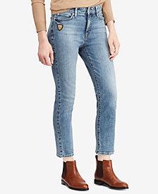 Lauren Ralph Lauren Petite Premier Straight Jeans