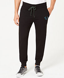 True Religion Men's Logo Active Jogger Pants