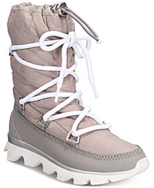 Sorel Women's Kinetic Waterproof Athletic Boots