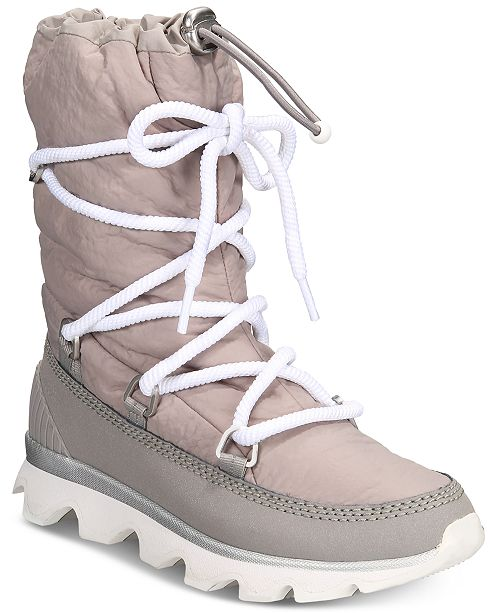 8ef8041a3c2 Sorel Women's Kinetic Waterproof Athletic Boots & Reviews - Boots ...