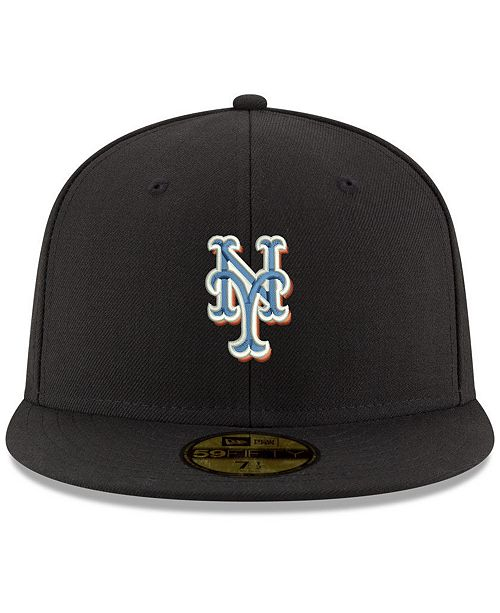 80789dc0536 New Era New York Mets Retro Classic 59FIFTY FITTED Cap - Sports Fan ...