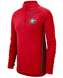 Nike Women's Georgia Bulldogs Element Half-Zip Pullover