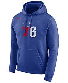 Nike Men's Philadelphia 76ers Essential Logo Pullover Hoodie