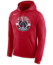 Nike Men's Washington Wizards Essential Logo Pullover Hoodie