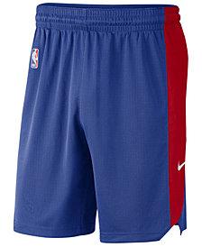 Nike Men's Detroit Pistons Practice Shorts