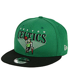 New Era Boston Celtics Retro Triangle 9FIFTY Snapback Cap