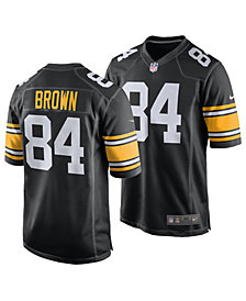 Nike Men's Antonio Brown Pittsburgh Steelers Game Jersey