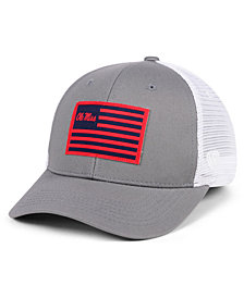 Top of the World Ole Miss Rebels Brave Trucker Snapback Cap