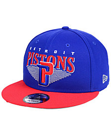New Era Detroit Pistons Retro Triangle 9FIFTY Snapback Cap