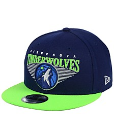 New Era Minnesota Timberwolves Retro Triangle 9FIFTY Snapback Cap