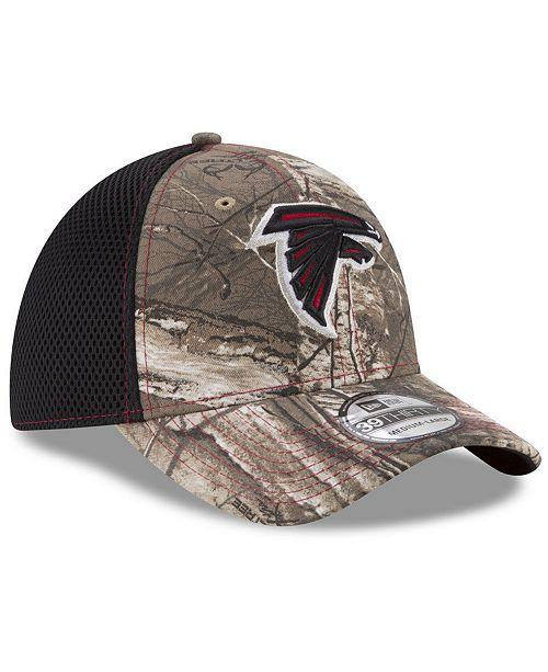 9b4e0c7804919 New Era Atlanta Falcons Realtree Camo Team Color Neo 39THIRTY ...