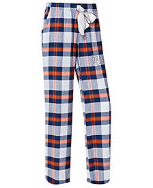 College Concepts Women's Detroit Tigers Headway Flannel Pajama Pants