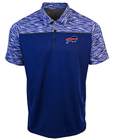 Authentic NFL Apparel Men's Buffalo Bills Final Play Polo