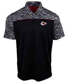 Authentic NFL Apparel Men's Kansas City Chiefs Final Play Polo