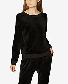 Sanctuary La Brea Velour Sweatshirt
