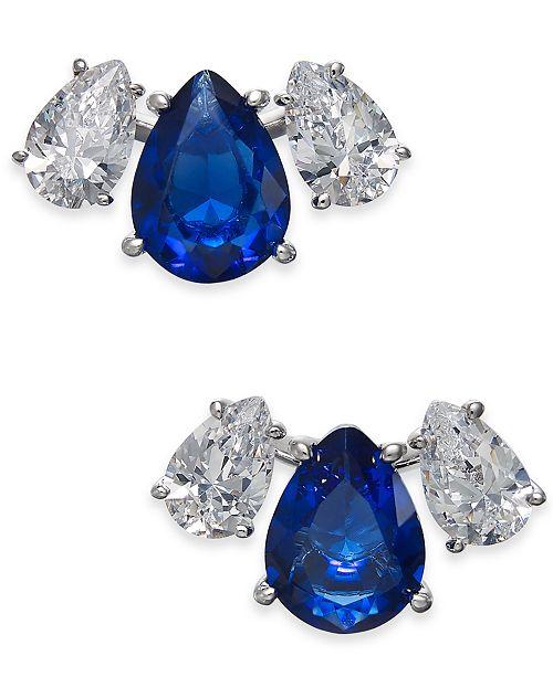 Eliot Danori Crystal & Stone Stud Earrings, Created for Macy's