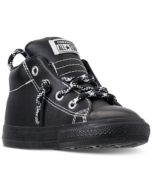 5b209c3b9e50 ... Converse Toddler Boys  Chuck Taylor All Star Street Hiker Mid Casual  Sneakers from Finish ...