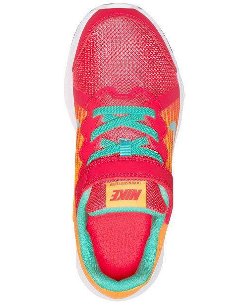 8b30269edc5a ... Nike Little Girls  Downshifter 8 Fade Running Sneakers from Finish Line  ...