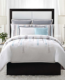 Vince Camuto Sorrento Twin XL 2 Piece Comforter Set in Aqua