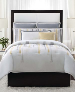 Vince Camuto Sorrento King 3 Piece Duvet Set in Aqua Bedding 7063950