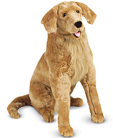 Melissa & Doug Plush Lifelike Giant Golden Retriever Dog