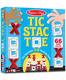 Melissa & Doug Tic Stac Toe 3-D Strategy Game