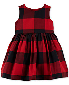 Carter's Baby Girls Buffalo-Check Dress