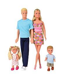Simba Toys - Steffi Love Family Box Of 4 Dolls