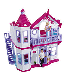 Simba Toys Steffi Love, My Dreamhouse with 4 Rooms