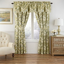 Waverly Spring Bling Window Pieced Scalloped Valance