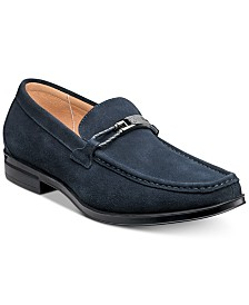 Stacy Adams Men's Neville Moc-Toe Slip-On Loafers