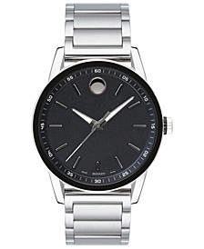 Men's Swiss Modern Sport Stainless Steel Bracelet Watch 42mm