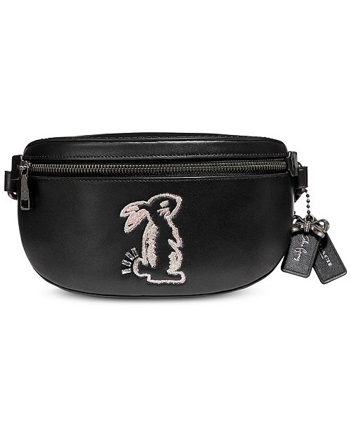 0ae44e7dae COACH Selena Gomez Leather Belt Bag   Reviews - Handbags ...