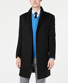 Kenneth Cole New York Men's Slim-Fit Raburn Cashmere Overcoat