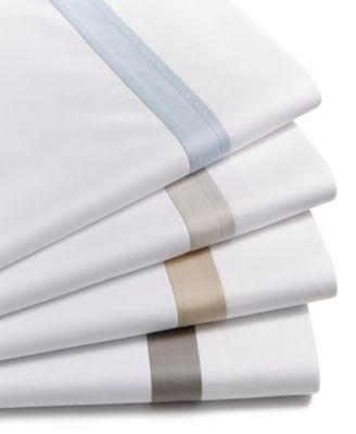 Sleep Luxe 800 Thread Count, Fashion Hem King Pillowcase Pair, 100% Cotton Sateen, Created for Macy's