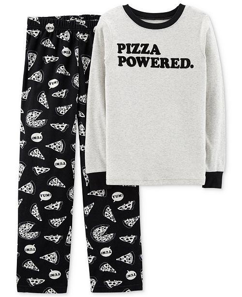 acbb26ead Carter's Little Boys Size 4 2-Pc. Pizza Pajama Set & Reviews ...
