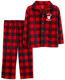 Carter's Toddler Boys Buffalo Plaid Pajamas