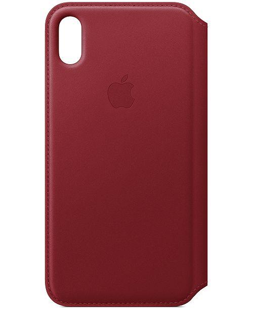 online store 2e85d e62c9 Apple iPhone XS Max Leather Folio Case & Reviews - Handbags ...
