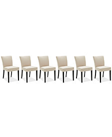 Tate Fabric Parsons Dining Chair, 6-Pc. Set (6 Side Chairs)