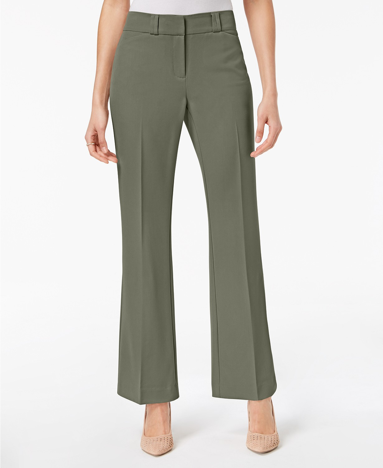 Save 24% on Alfani Petite Curvy Bootcut Pants