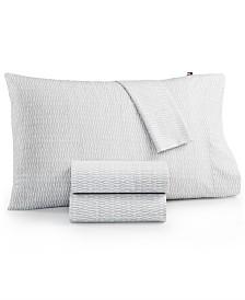 Tommy Hilfiger Twin XL Selenite Dot Sheet Set