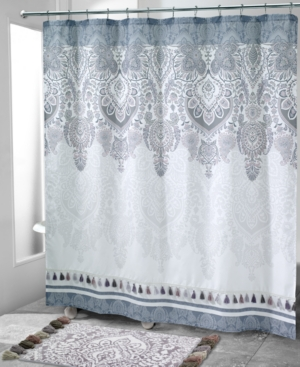 John Robshaw Pasak Shower Curtain Avanti