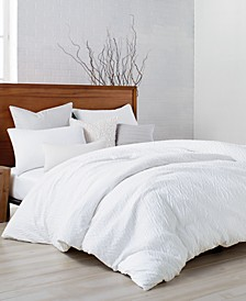 PURE Crinkle Queen Duvet
