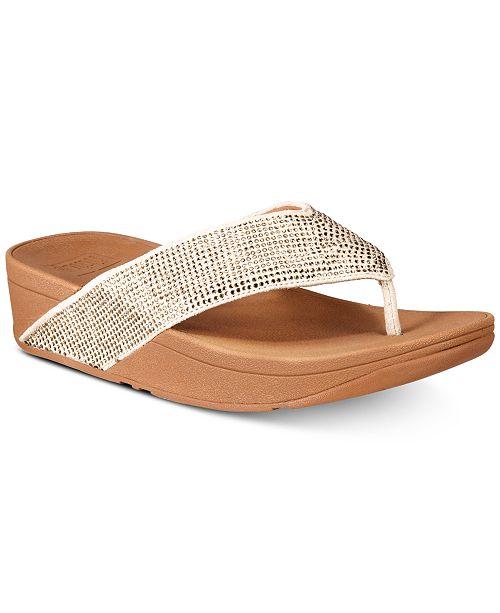 75ce3e30508e FitFlop Ritzy Toe-Thong Sandals   Reviews - Sandals   Flip Flops ...