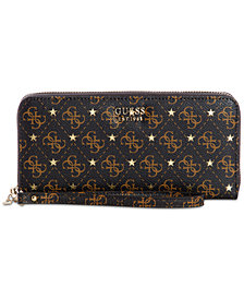 GUESS Affair Signature Zip Around Wallet