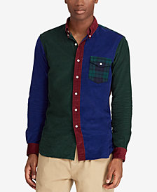 Polo Ralph Lauren Men's Classic Fit Patchwork Corduroy Shirt