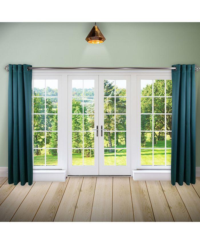 "Rod Desyne - Room Darkening Curtain - Turquoise 150"" x 96"""