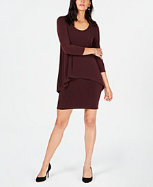 Alfani Popover-Waist Dress, Created for Macy's